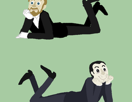 two moriartys by Jackarais