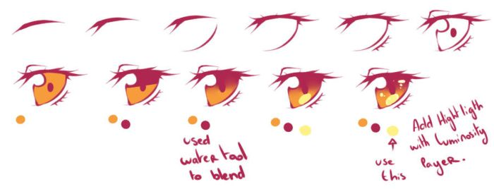 Eyes Refs by rika-dono
