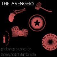 The Avengers by reinamakesbrushes