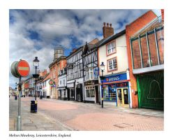 Market Town Street HDR by nat1874