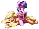 Commision 4 : AJ and TS by Marenlicious