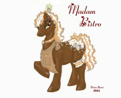 MLP OC Madam Bistro at Breakfast  and Lunch by Boss-Hoss1