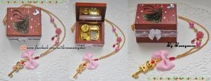 Sailor Moon - music box - chibiusa time key CUSTOM by Bunnymoon-Cosplay