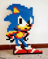 LEGO: Sonic_1 by Meufer