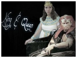 Pharaoh and his Queen. by Lord-Imhotep