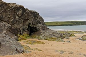Rocks and Beach 03 - Cave by fuguestock