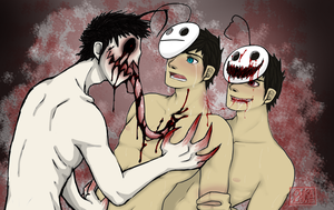 3some nightmare by 13OukaMocha13