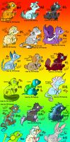 30 Animal Adopts //Cheap\\ by Hoffnungsstern