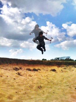 Dune Jumping by MPLVxx