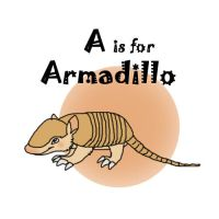A is for Armadillo by RIOPerla
