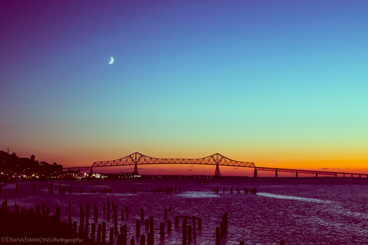 Astoria Sunset by diantc333