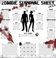Zombie Survival Sheet by Trompwn
