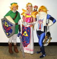 Zelda:Ocarina of Time Cosplay4 by michelleion