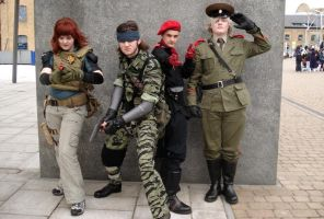 Metal Gear Solid 3 Cosplay 3 by Vrcg