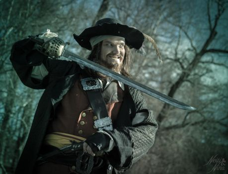 Hapsu Cosplay - Captain Barbossa by Hapsu-cosplay