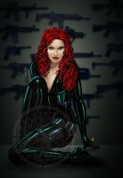 Black Widow by Raro666