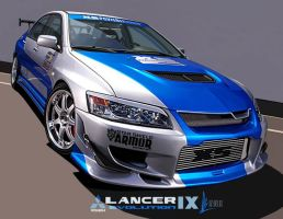 Mitsubishi Lancer Evolution IX by m-a-p-c