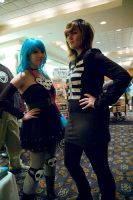 Ramona Flowers and Kim Pine by bethanyagogo