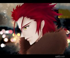 Suoh Mikoto K - Memory of Red by nomenesss