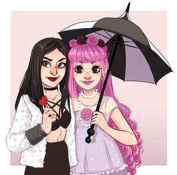 Commission - Dolly-Belladonna by HetteMaudit