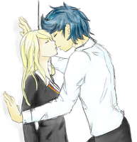 Teddy and Victoire by BlueberrySakura