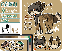 Akumu Ref (NO LONGER OWNED BY ME) by powiibo