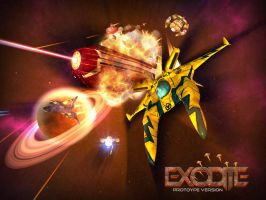 Exodite - Intro screen by Dwair