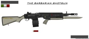 THE BARBARIAN SHOTGUN by ZiWeS