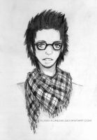 Hipster Gates by Kunai-Kurenai