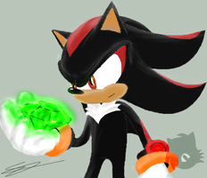 Practice - Shadow the Hedgehog by LiChiba