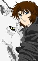 Kiba z Wolf's rain w Paint by Tiger--shadow