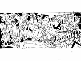 X-Men Guernica - SKETCH by Theamat