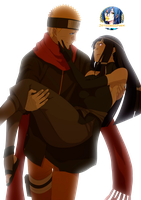 NaruHina The Last Render by ZetsubouSpook