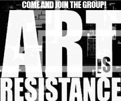 air art is resistance group ad by westwolf270
