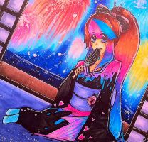 { Summer Nights } by x-CherryHime-x