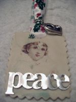 Peace Ornament by darkpriestss