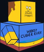 Cubee - Comic Book Guy by 7ater