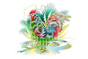 Rooster by arterie