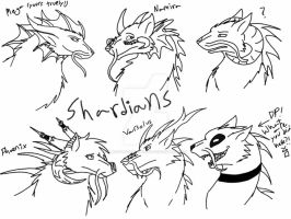 All of Teh Shardians! by ShardianofWhiteFire