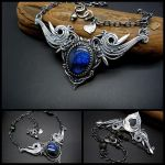 Necklace Flight of Passion by rodicafrunze