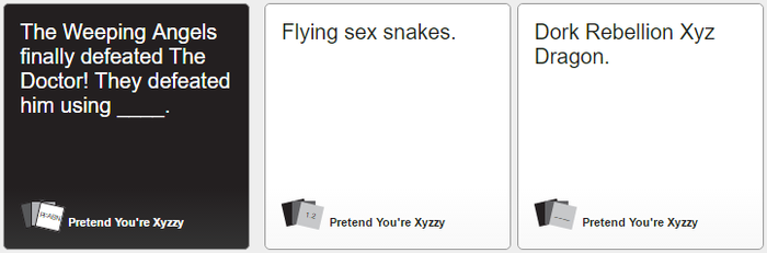 Cards Against Humanity 365 by thetrollsapprentice
