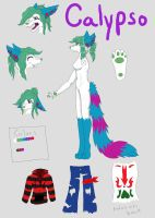 New Calypso Fontaine Ref by Calypso-Fontaine