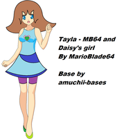 Tayla - MB64 and Daisy's girl by MarioBlade64