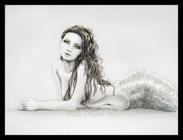 rest mermaid by Tania-S
