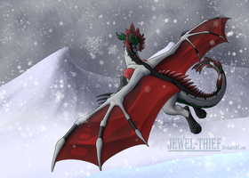 C - Snowy Flight by Jewel-Thief