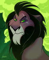 Scar by Bahati-Lioness