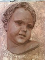 Face of a baby or old ppl by granet