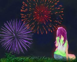 Not the 4th of July Fireworks by Derpy-Mermaid