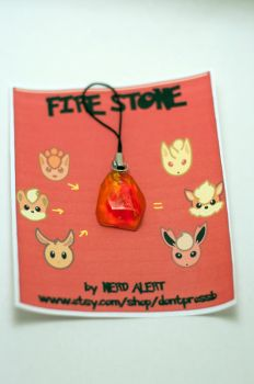 Fire Stone with Packaging by ZoeQuinn