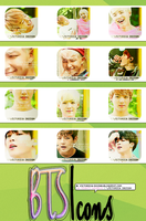 BTS icons. #1 by victoricaDES